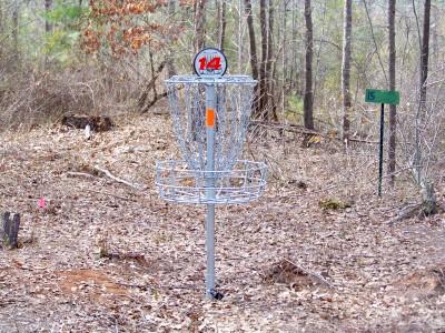 Myrtle Ridge, Main course, Hole 14 Putt