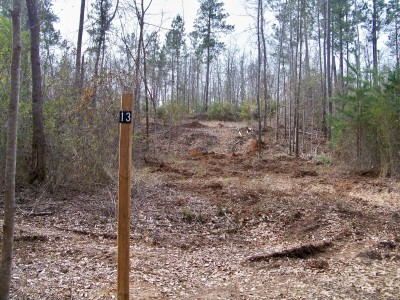 Myrtle Ridge, Main course, Hole 13 Tee pad