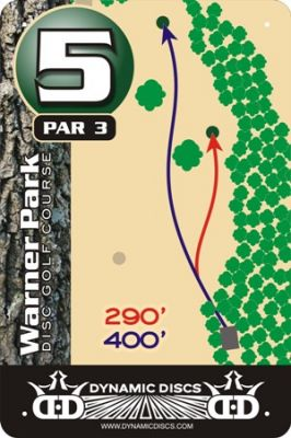 Warner Park, Main course, Hole 5