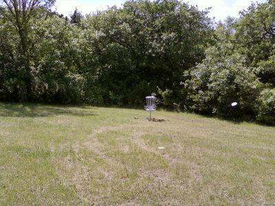 Warner Park, Main course, Hole 5 Short approach