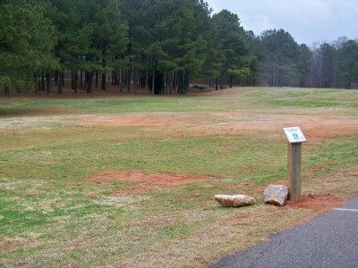 Criswell Park, Main course, Hole 9 Tee pad