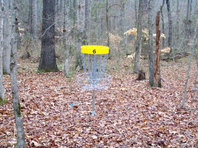 Criswell Park, Main course, Hole 6 Putt
