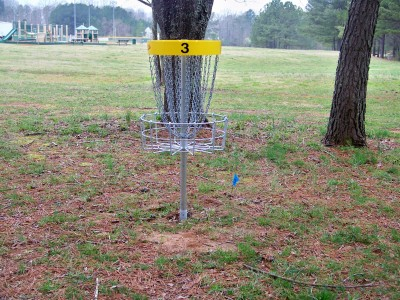 Criswell Park, Main course, Hole 3 Tee pad