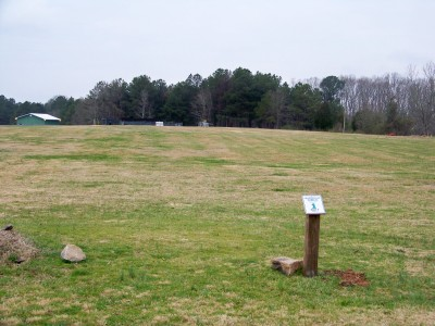 Criswell Park, Main course, Hole 1 Tee pad