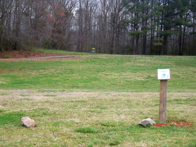 Criswell Park, Main course, Hole 4 Tee pad