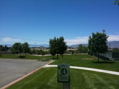 Utah Valley University, Main course, Hole 4 Tee pad