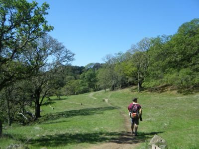 Skyline Wilderness Park, Main course, Hole 16 Tee pad