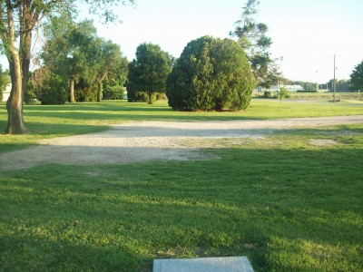 Highland Park, Main course, Hole 8 Tee pad