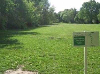 Matter Park, Matter Park, Hole 1 Tee pad