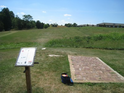 Falling Creek Park, Main course, Hole 2 Tee pad