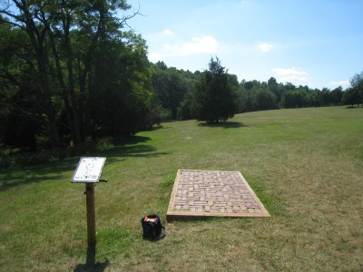 Falling Creek Park, Main course, Hole 6 Tee pad