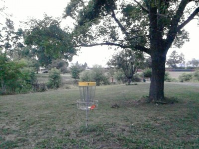 Angelica Park, Main course, Hole 7 Reverse (back up the fairway)