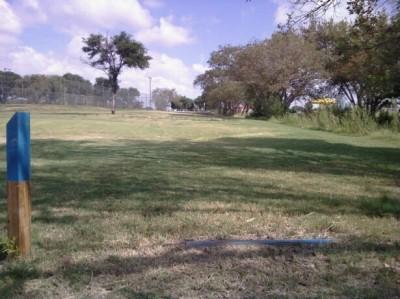 McKinney Park, Main course, Hole 9 Tee pad