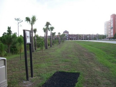 University of Central Florida, Main course, Hole 7 Tee pad