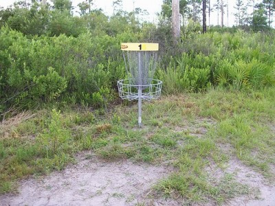 University of Central Florida, Main course, Hole 1 Putt
