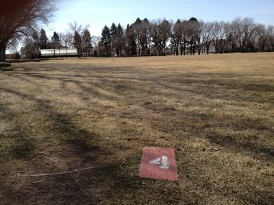 Ogden Weber Applied Technology Center, Main course, Hole 4 Tee pad