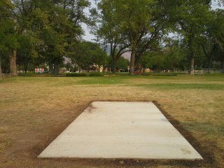 Ogden Weber Applied Technology Center, Main course, Hole 5 Tee pad
