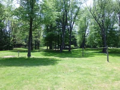Wingfoot Lake State Park, Main course, Hole 18 Long tee pad