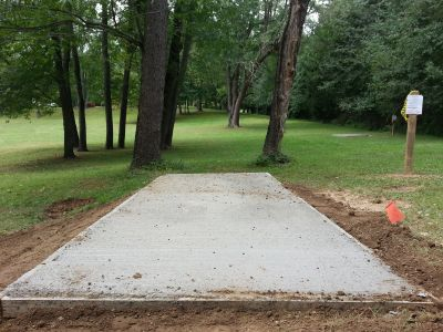 Wingfoot Lake State Park, Main course, Hole 16 Long tee pad