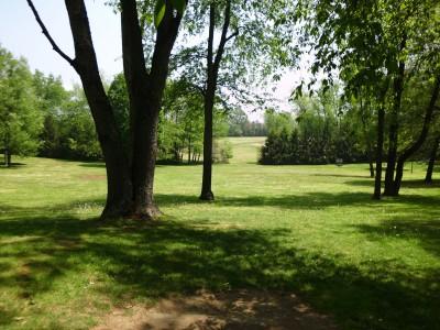 Wingfoot Lake State Park, Main course, Hole 17 Short tee pad