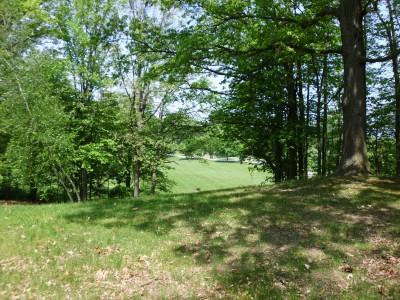 Wingfoot Lake State Park, Main course, Hole 8 Long tee pad