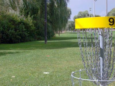Cedarvale Park, Main course, Hole 9 Reverse (back up the fairway)