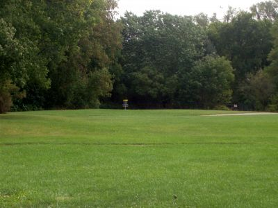 Cedarvale Park, Main course, Hole 4 Long approach