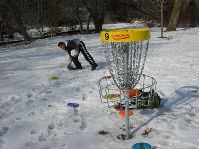 Cedarvale Park, Main course, Hole 9 Putt