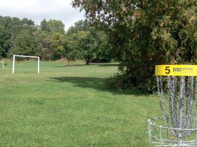 Cedarvale Park, Main course, Hole 5 Reverse (back up the fairway)