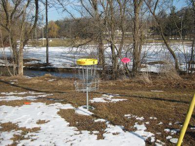 Cedarvale Park, Main course, Hole 6 Short approach
