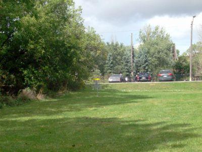 Cedarvale Park, Main course, Hole 7 Short approach