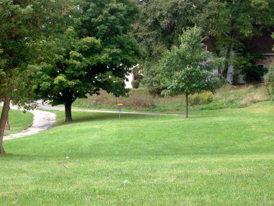 Cedarvale Park, Main course, Hole 3 Middle tee pad