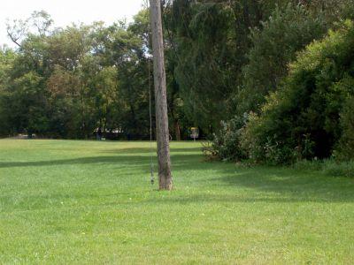 Cedarvale Park, Main course, Hole 9 Long approach