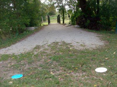 Cedarvale Park, Main course, Hole 6 Tee pad
