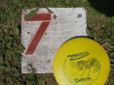 Birch Point Park, Main course, Hole 7 Hole sign