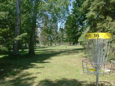 Birch Point Park, Main course, Hole 16 Reverse (back up the fairway)