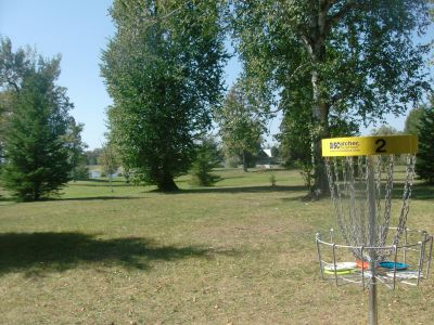 Birch Point Park, Main course, Hole 2 Reverse (back up the fairway)