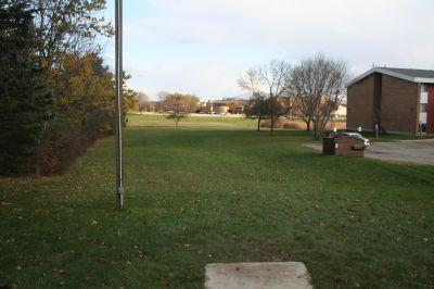 Cornerstone University, Cornerstone University, Hole 2 Tee pad
