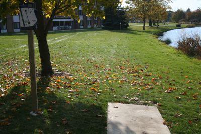 Cornerstone University, Cornerstone University, Hole 11 Tee pad