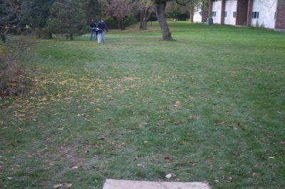 Cornerstone University, Cornerstone University, Hole 17 Tee pad