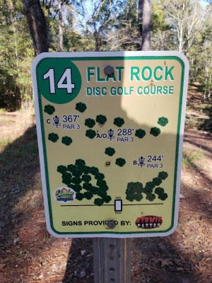 Flatrock Park, Main course, Hole 14