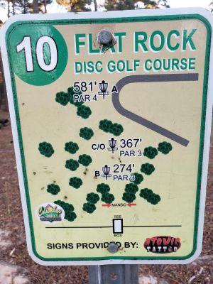 Flatrock Park, Main course, Hole 10
