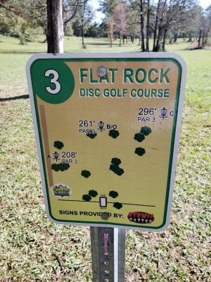 Flatrock Park, Main course, Hole 3