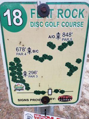 Flatrock Park, Main course, Hole 18