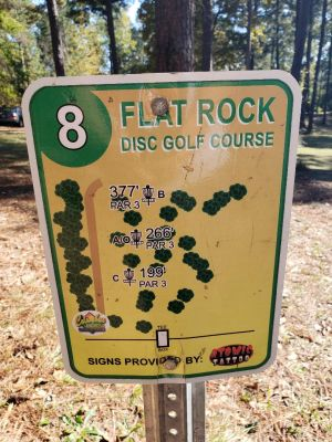 Flatrock Park, Main course, Hole 8