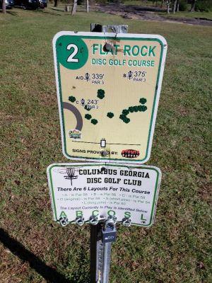Flatrock Park, Main course, Hole 2