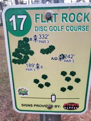 Flatrock Park, Main course, Hole 17