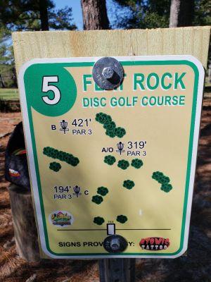 Flatrock Park, Main course, Hole 5