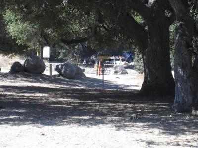 Oak Grove (Hahamongna Park), Main course, Hole 16 Tee pad