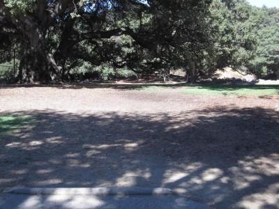 Oak Grove (Hahamongna Park), Main course, Hole 1 Tee pad